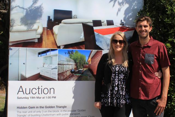 Justin and Sarah first home buyers | Platinum People Group