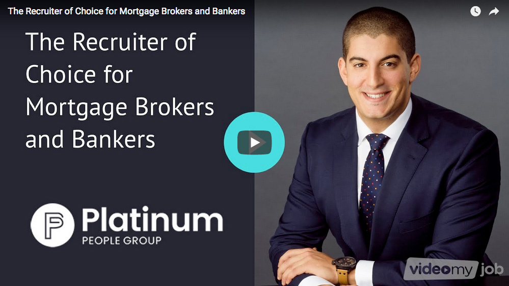 The Recruiter of Choice for Mortgage Brokers and Bankers