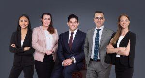 Photo of key staff at Platinum People Group